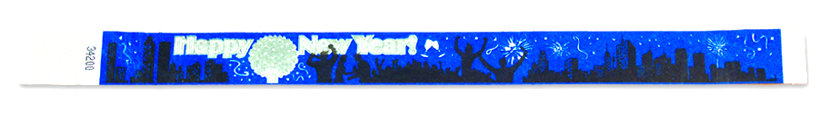 Happy New Year Wristband