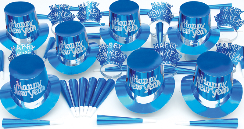 Solid Blue Party Kit