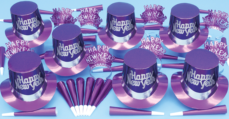 Solid Purple Party Kit