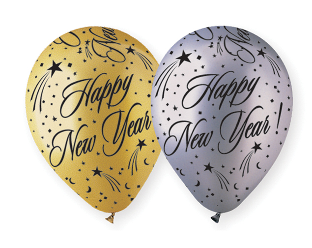 Happy New Year Balloons