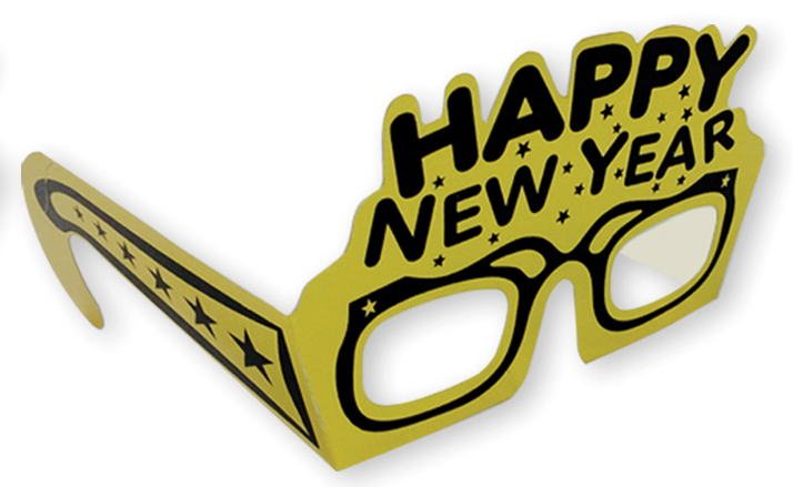 HAPPY NEW YEAR EYEGLASSES