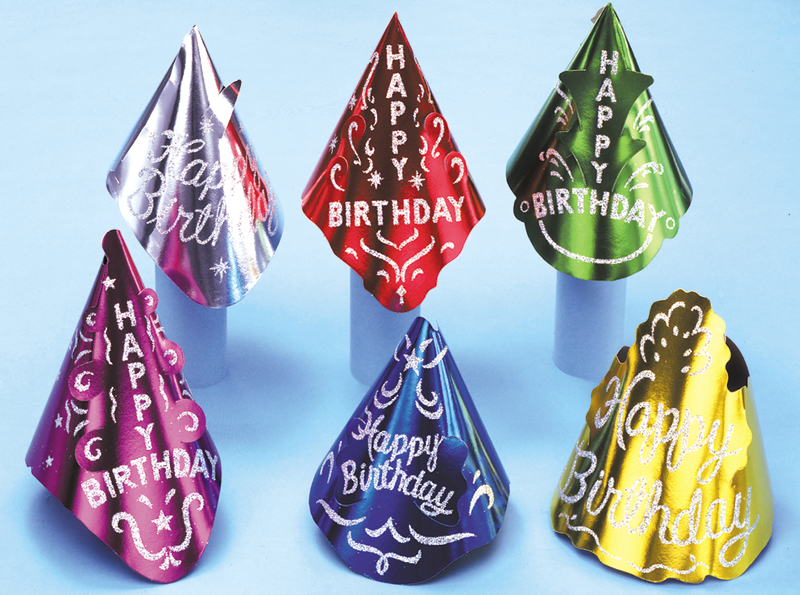 Birthday Hats - Adult Size