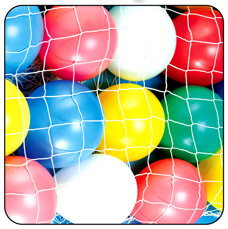 8' x 8' Balloon Drop Net