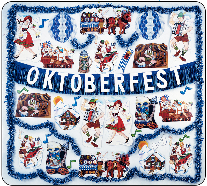 Oktoberfest Flame Resistant Decorating Kit