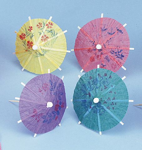 "3-1/2"" Cocktail Parasols"