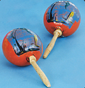 Authentic Mexican Maracas