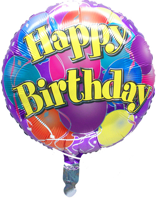 "18"" Microfoil Birthday Balloon"